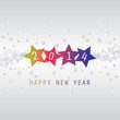 New Year Card - Happy New Year 2014