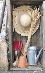 décor rustique de jardinage