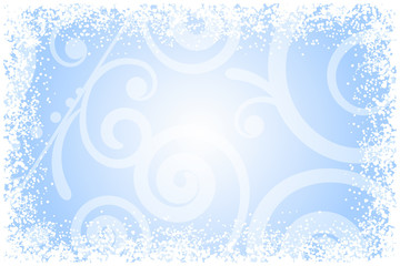 Vector frost glass background