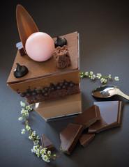 verrine au chocolat