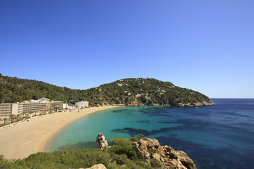 Cala de Sant Vicent, Ibiza Spain,Eivissa