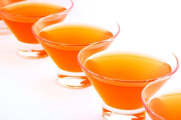 orange jelly diagonal horizontal