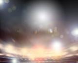 Fototapety Lights of stadium