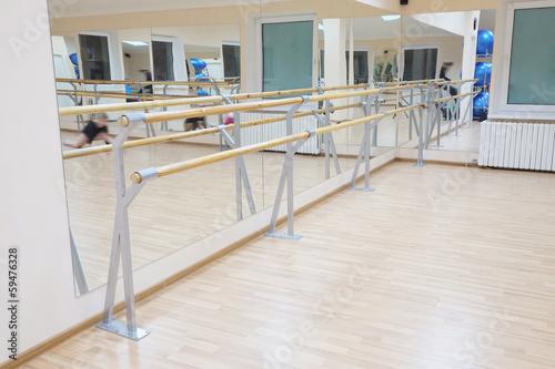 Fotobehang Stadion ballet barre