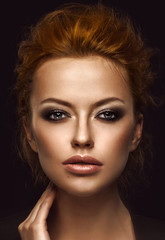 make-up model face portrait