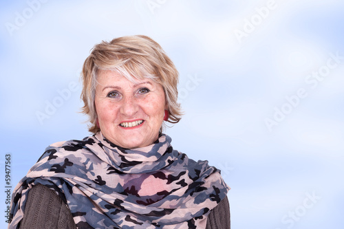 Portrait of a senior business woman
