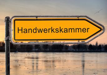 Strassenschild 9 - Handwerkskammer