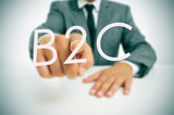 B2C, business-to-consumer