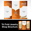 Tril Fold Jewelry Shop Brochure