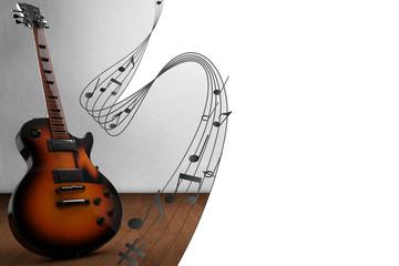 Gitarre Gitarrenunterricht Musikschule Anzeige