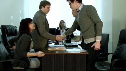 Beginning of the meeting