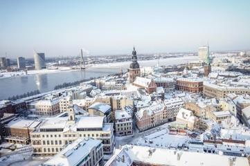 Riga winter