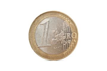 Ein Euro Münze Griechenland