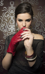 Fashion women gloves