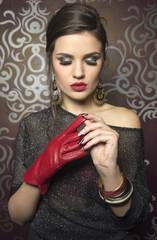 Fashion women portrait