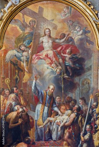 Vienna - Saint Francis of Sales .resurgent of young boy