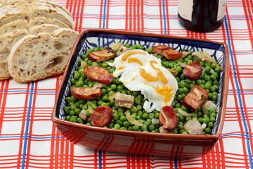 portuguese traditional food-pea stew- mediterranean diet