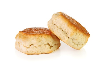 Two uncut scones