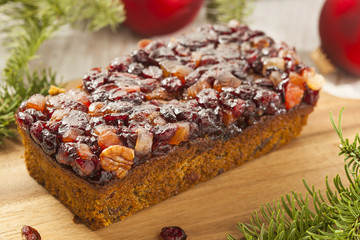 Festive Homemade Holiday Fruitcake
