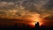 tramonto a milano