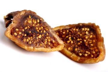 fig fruit, whole, halves