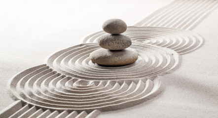 concept of pampering with meditation