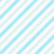Teal Diagonal Striped Textured Fabric Background