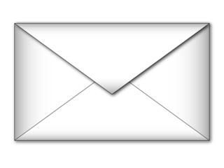 Busta lettera bianca 2