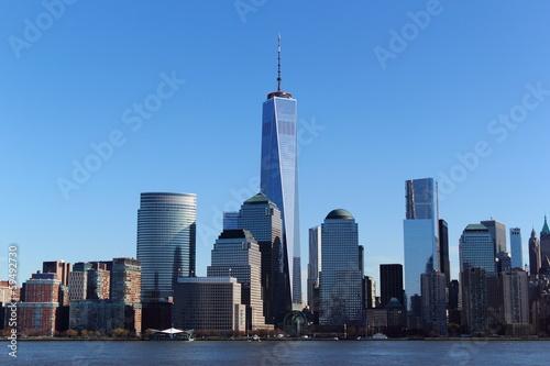 Poster New York Manhattan World Trade Center