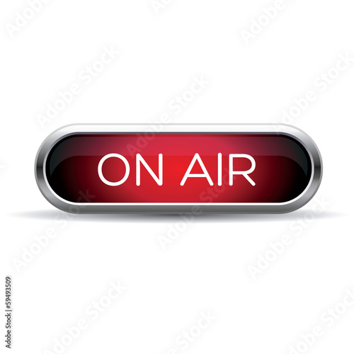 on air red sign