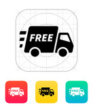 Free delivery support icon.