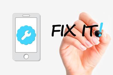 Smartphone repair concept