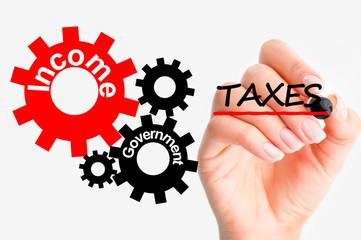 Adjust tax system