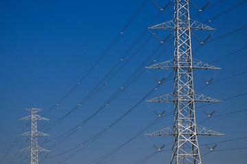 High voltage poles,Mono pole transmission line tower