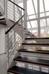 Treppenaufgang modern