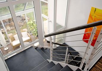 modernes Treppenhaus