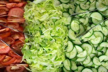 Gemischter frischer Salat
