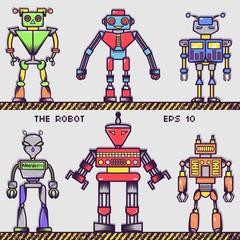 Retro Robot Collection