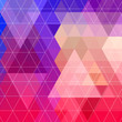 Abstract triangle pattern background.