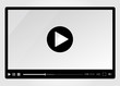 Video player for web, minimalistic design - 59504925
