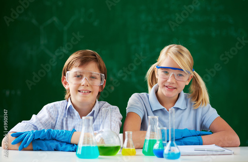 Young chemists