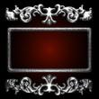 silver vector decor