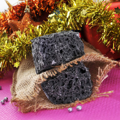 christmas candy coal