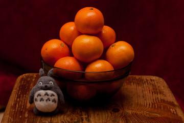тоторо и мандарины