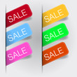 Sale Lables Set SImple Design