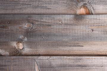 Holzplanken horizontal verwittert Nahaufnahme