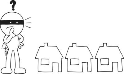 Thief Choosing House