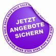 Violett Sale Konzept - Jetzt Angebote Sichern