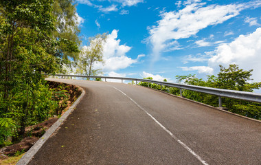 road, Mahe island