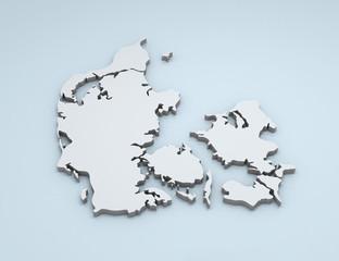 Denmark 3D map